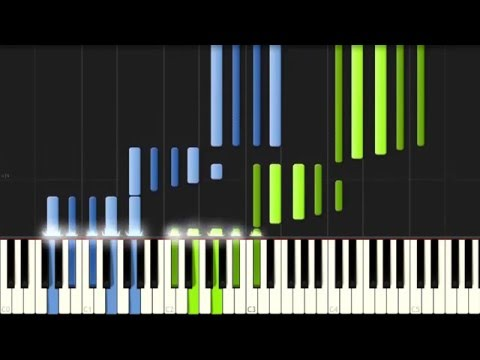 "Beethoven: ""Moonlight"" Piano Sonata No. 14 in C# minor - Complete [Piano Tutorial] (Synthesia)"
