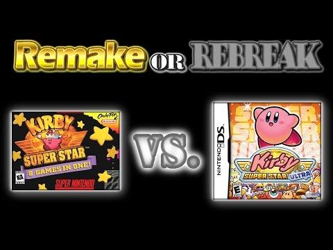 ROR: Kirby Super Star Vs. Kirby Super Star Ultra (SNES Vs. NDS)