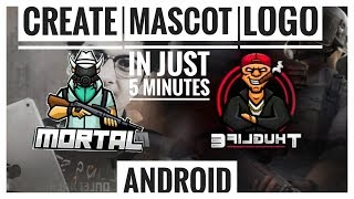 How to make Mascot Logo Like Soul Mortal And 8 Bit On Android in just 5 Minutes.