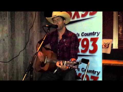 Dean Brody LIVE with BX93 at Lonestar Texas Grill!