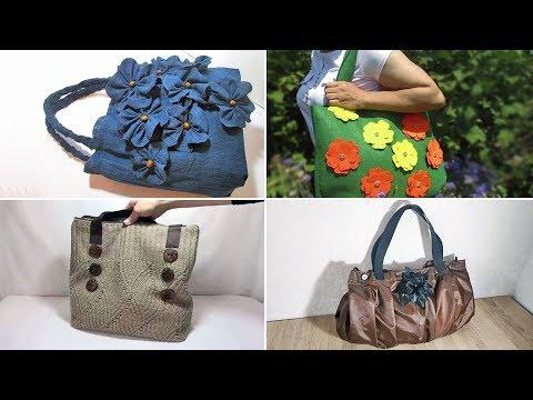 5 потрясающих идей, как сшить сумки из разных материалов своими руками