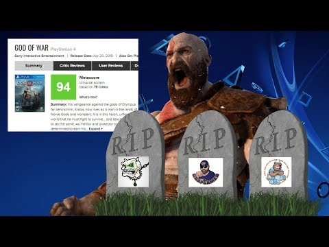 God Of War Reviews Are In And Its The Game Of The Generation box Owners Are Salty