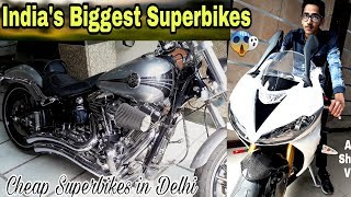 Pre-Owned Super Bikes In Delhi | Used Superbikes For Sale | Second Hand Sports Bikes | Subash Nagar.