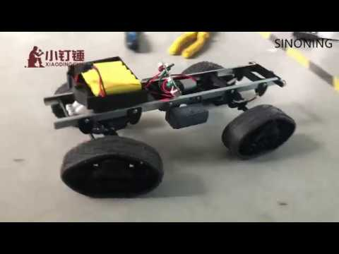 robot chassis military truck 4WD climbing DIY modified car kit