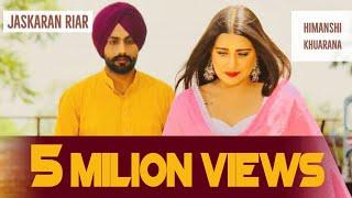 DIGDE ATHRU (OFFICIAL VIDEO ) JASKARAN RIAR FT HIMANSHI KHURANA | New Punjabi Songs 2019