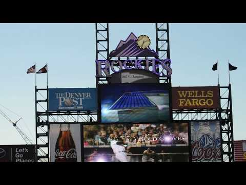 Todd Helton Tribute last game at Coors Field 9-25-13