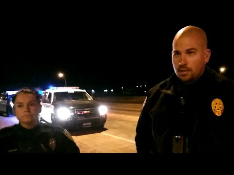 1st Amendment Audit - Dyess Air Force Base (Confused M.P.)