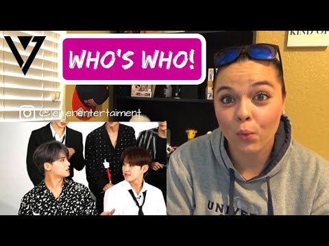 Seventeen Plays Who's Who REACTION!!