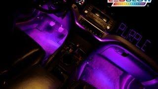 Ledglow S 4pc Purple Led Interior Kit