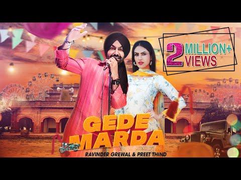 Gede Marda | Ravinder Grewal, Preet Thind | DJ Duster| New Punjabi Song 2020 | Tedi Pag Records - Download full HD Video mp4