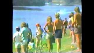 143+ mph Crash ! World Water Ski Speed Record Attempt 1983 - Chris Massey