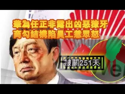 张杰:华为官商勾结构陷员工李洪元引发众怒