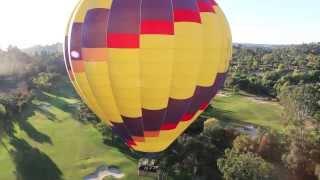 San Diego hot air balloon ride