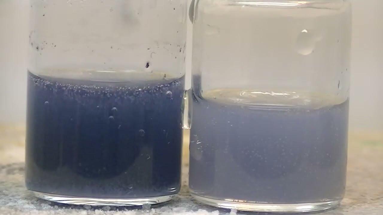 Получение двухвалентного хрома Cr(II) восстановлением боргидридом натрия NaBH4 - ДУСТХИМПРОМ