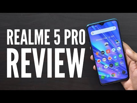 Realme 5 Pro Smartphone Review with Pros Cons