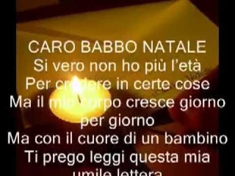 Lettera d'amore a babbo natale