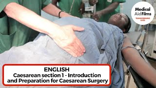 Caesarean section 1 – Introduction and preparation for surgery thumbnail