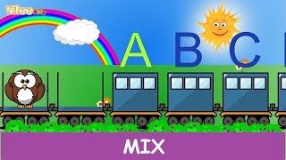 Impariamo i numeri, l'alfabeto e i colori insieme - Mix per bambini - Yleekids Italiano