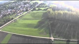 Quadrocopter Flug nach PID tuning