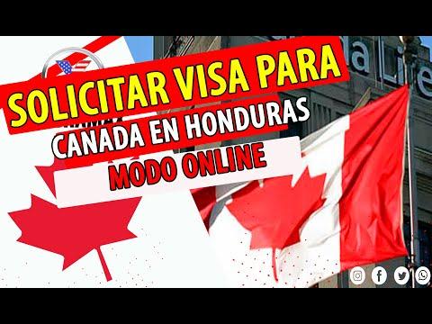 COMO SOLICITAR LA VISA PARA CANADA EN HONDURAS