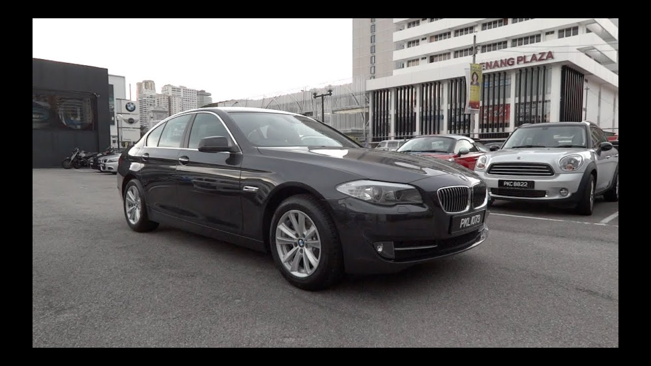 2012 Bmw 520d Start Up And Full Vehicle Tour