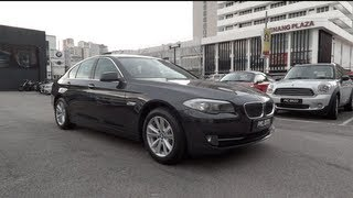 2012 BMW 520d Start-Up and Full Vehicle Tour