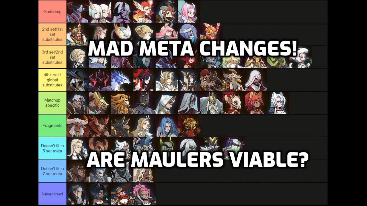 Hero Tier List (Sept 2020) - Viable Maulers!