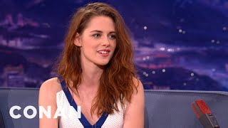 Kristen Stewart Is Tired Of Crappy Girl Power Movies - CONAN on TBS