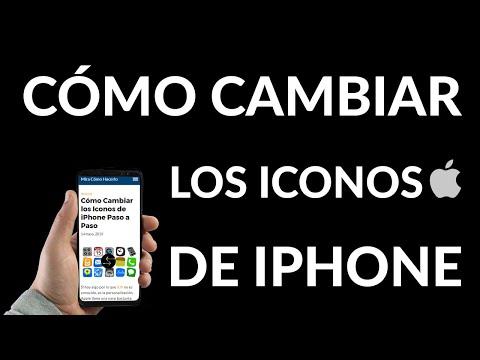 Cómo Cambiar Iconos de iPhone