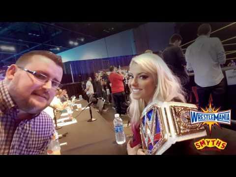 Smyths Toys - EXCLUSIVE Alexa Bliss Interview - Wrestlemania 33