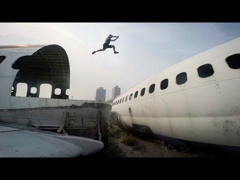 GoPro: Freerunning Bangkok's Airplane Graveyard with Jason Paul