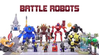 Gambar cover LEGO - Battle Robots - Stop Motion Build