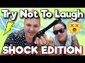 Try Not To Laugh Challenge - Electric Shock Edition