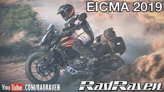 EICMA 2019 - DAY 1 Triumph Scrambler, Ducati Scrambler, KTM 390, Husqvarna 801, Touratech, SW-Motech