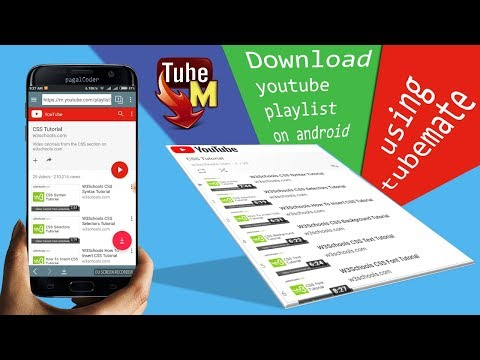 Download youtube playlist on android and pc