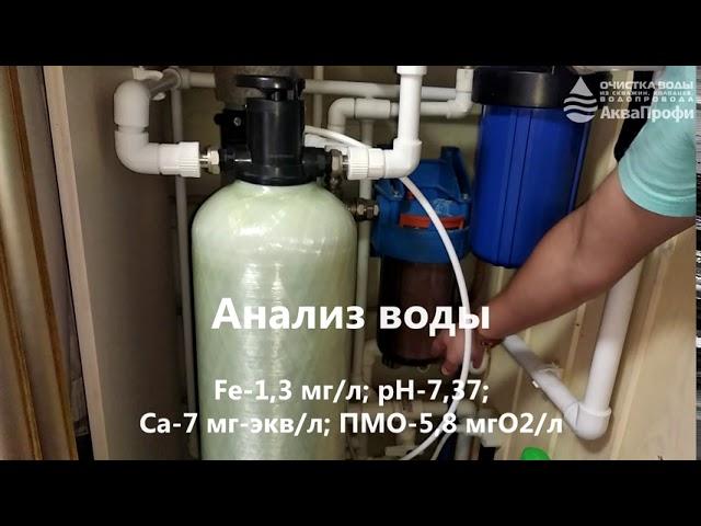 Очистка воды для дачи. 08х44 Promix-C Runxin F64B