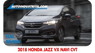 2018 Honda Jazz 1.5 VX Navi CVT - Full Review