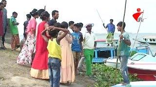 মিনি কক্সবাজার নিকলী হাওরে ঈদ আনন্দে দর্শনার্থীদের উপচে পড়া ভীড়