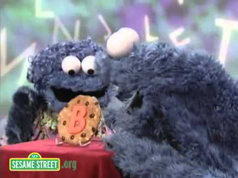 Sesame Street Cookie's Letter of the Day B   YouTube