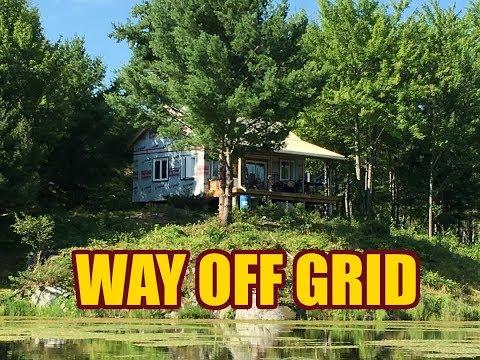 Back at the Off Grid Cabin - Episode 5