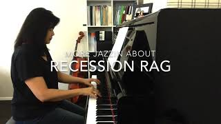 Recession Rag - Pamela Wedgwood Jazzin' About series