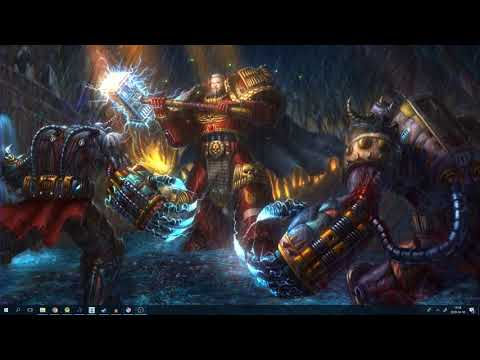 Epic Warhammer 40k Music/Gaming Live Wallpaper