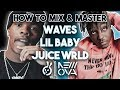 FULL WAVES Mixing & Mastering Studio Session   Rap Vocals   LIL BABY // JUICE WRLD //  TYGA   How To