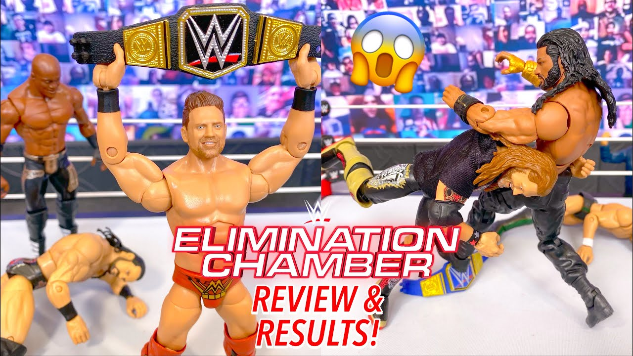 WWE ELIMINATION CHAMBER 2021 REVIEW & RESULTS! MIZ CASHES IN! EDGE VS REIGNS CONFIRMED!