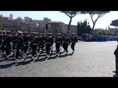 Roma 2 Giugno 2015 festa della Repubblica Video di Gervasio Antonio
