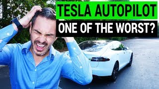 Tesla Autopilot: Worst in the Industry ( AP1 & AP2 )