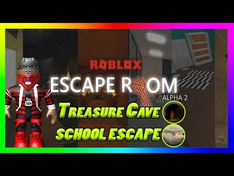 Roblox - Escape Room Alpha 2 [Treasure Cave, School escape's]
