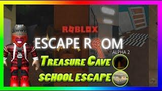 Roblox - Escape Room Alpha 2 [Treasure Cave, School escape's]
