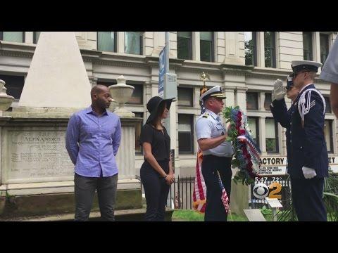 Cast & Crew Honor Alexander Hamilton