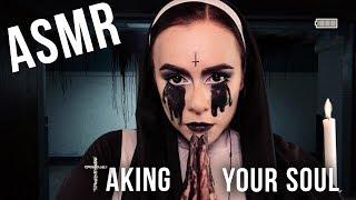 АСМР | Ролевая игра 🎃 Заберу твою душу 🕇 Неразборчивый шепот ASMR | Halloween Roleplay 🕇 Nun